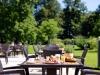 Orangerie Terrasse im Schlosshotel Fleesensee