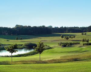 Golfplatz am Balmer See auf Usedom